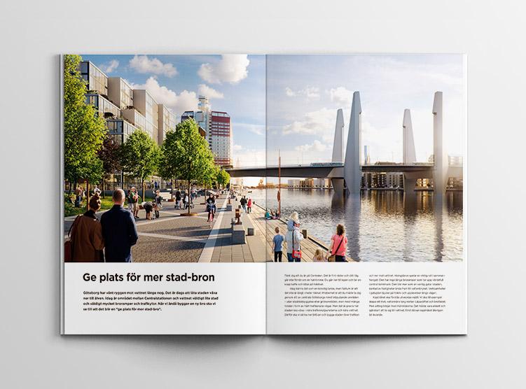 Hisingsbron Folder Ge plats för mer stad-bron
