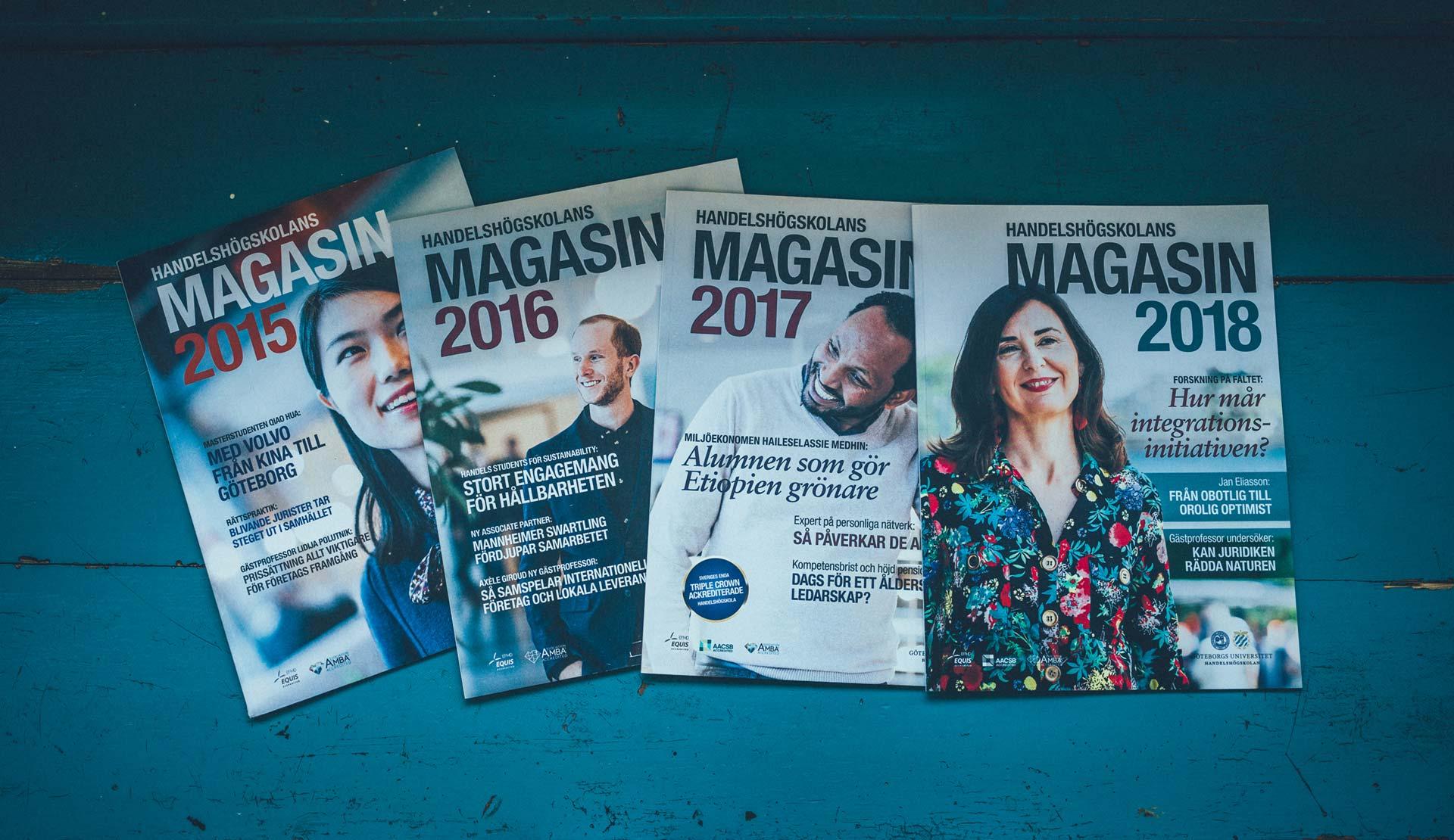 Handelshögskolans årsmagasin 2015-2018