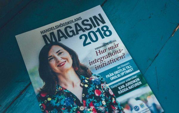 Handelshögskolans årsmagasin 2018