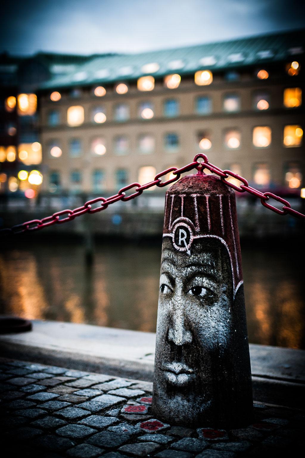 Konstverk i Rosenlund av Joakim Stampe