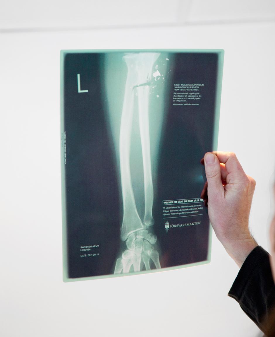 Försvarmakten röntgenbild