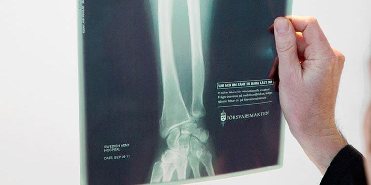 Försvarsmakten Röntgenbild