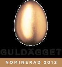 Guldägget nominerad 2012