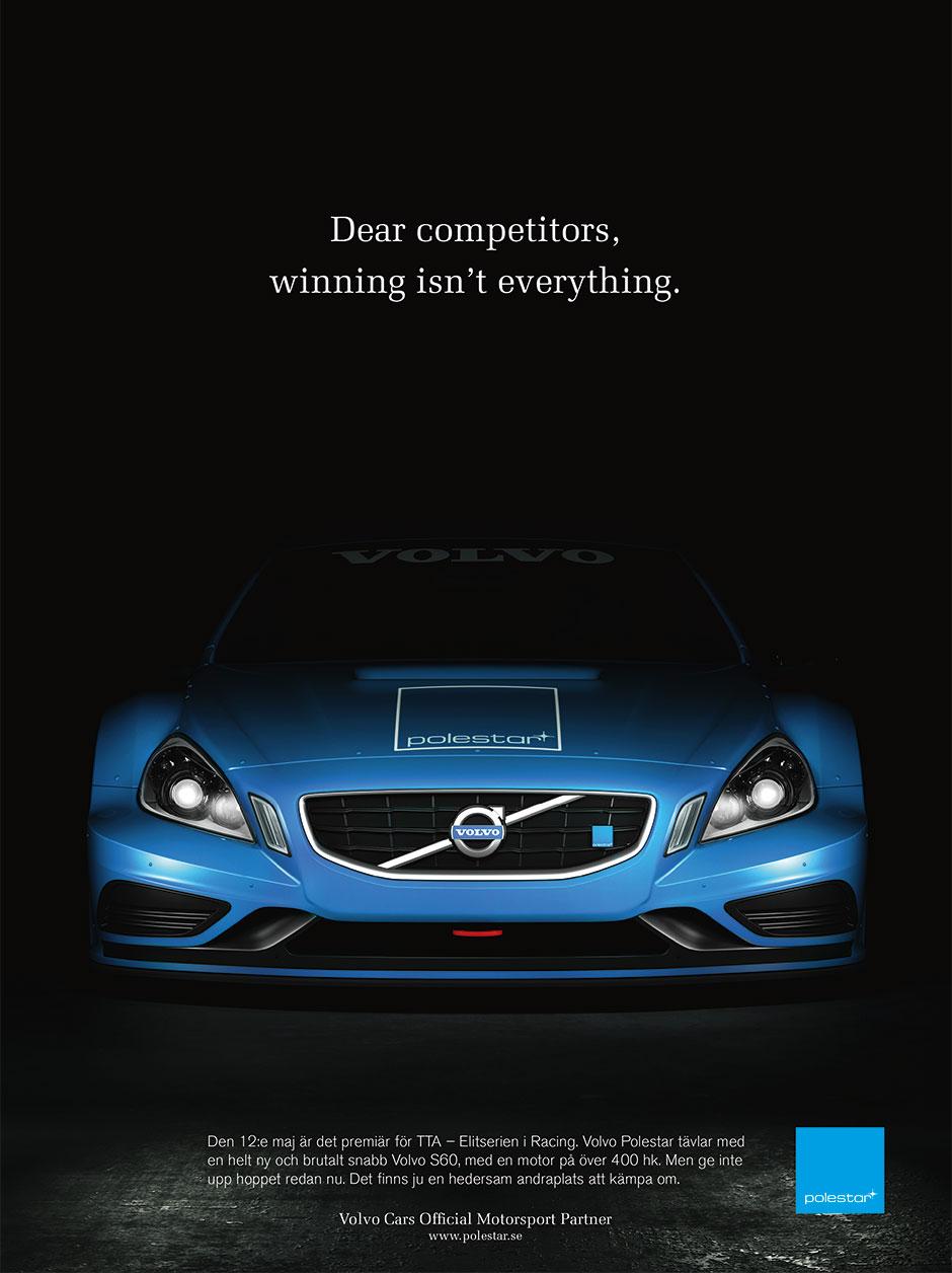 Polestar annons - Dear competitors