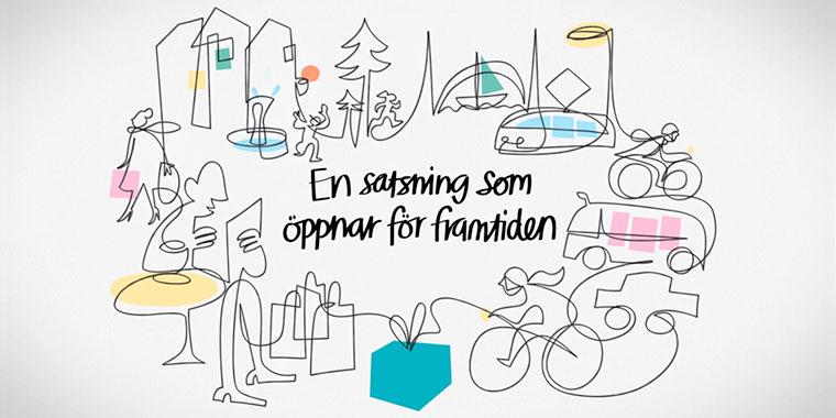 Västsvenska Paketet - En Satsning Som öppnar För Framtiden
