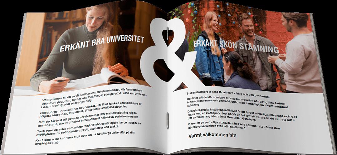 Göteborgs Universitet – Nationell Rekrytering – Excellens & hjärta